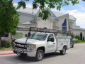 Our custom metal roofing installed on a large church