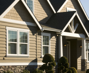 Durable Hardie Siding on Craftsman-style Home