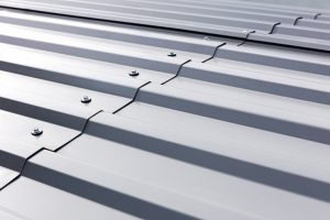 Metal roofing not standing seam