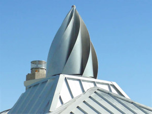 Custom metal roofing by RoofCrafters, Inc.