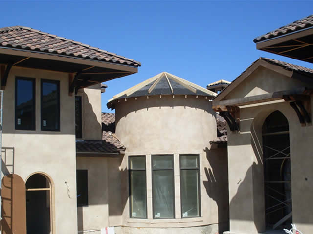 Tile roofing installation and repair austin texas for Spanish style roof tiles