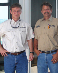 The RoofCrafters founders, now established as a quality roofing company in Austin TX