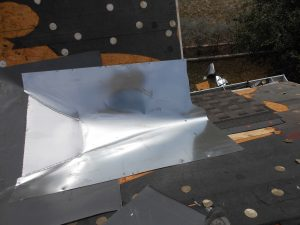 metal roofing flashing