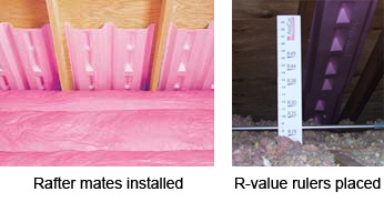 Thermal insulation needs proper installation to do the job right