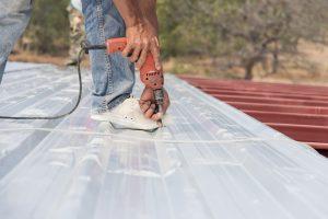 screw down metal roof leaks