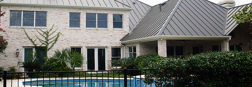 Metal roofing Austin TX, metal roof repair service