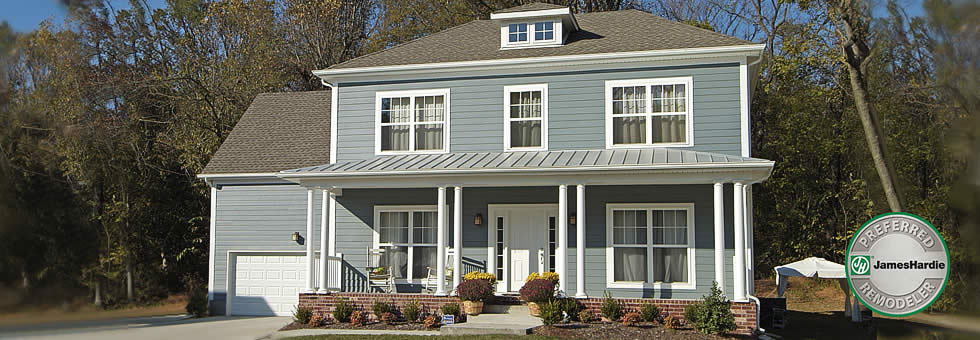 New Hardie siding, Houston roofing companies